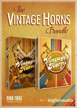Big Fish Audio Vintage Horns BUNDLE