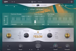 uJam Virtual Bassist 2 Mellow Player GUI
