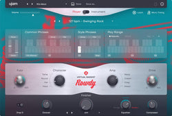 uJam Virtual Bassist 2 Rowdy GUI