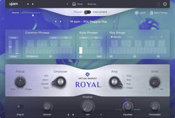 uJam Virtual Bassist 2 Royal GUI
