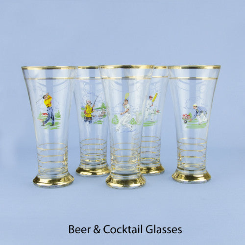 1 pint beer glasses