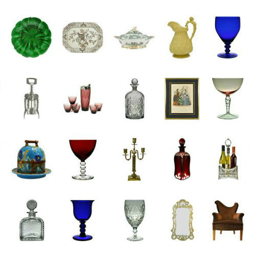 Vintage home decor items