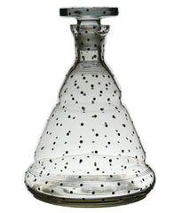 Art Deco pyramid decanter