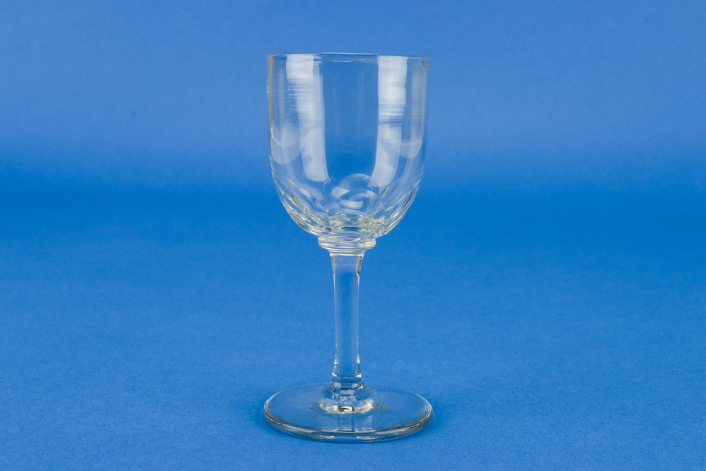Small dessert wine glass