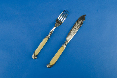 Dining cutlery set for 6