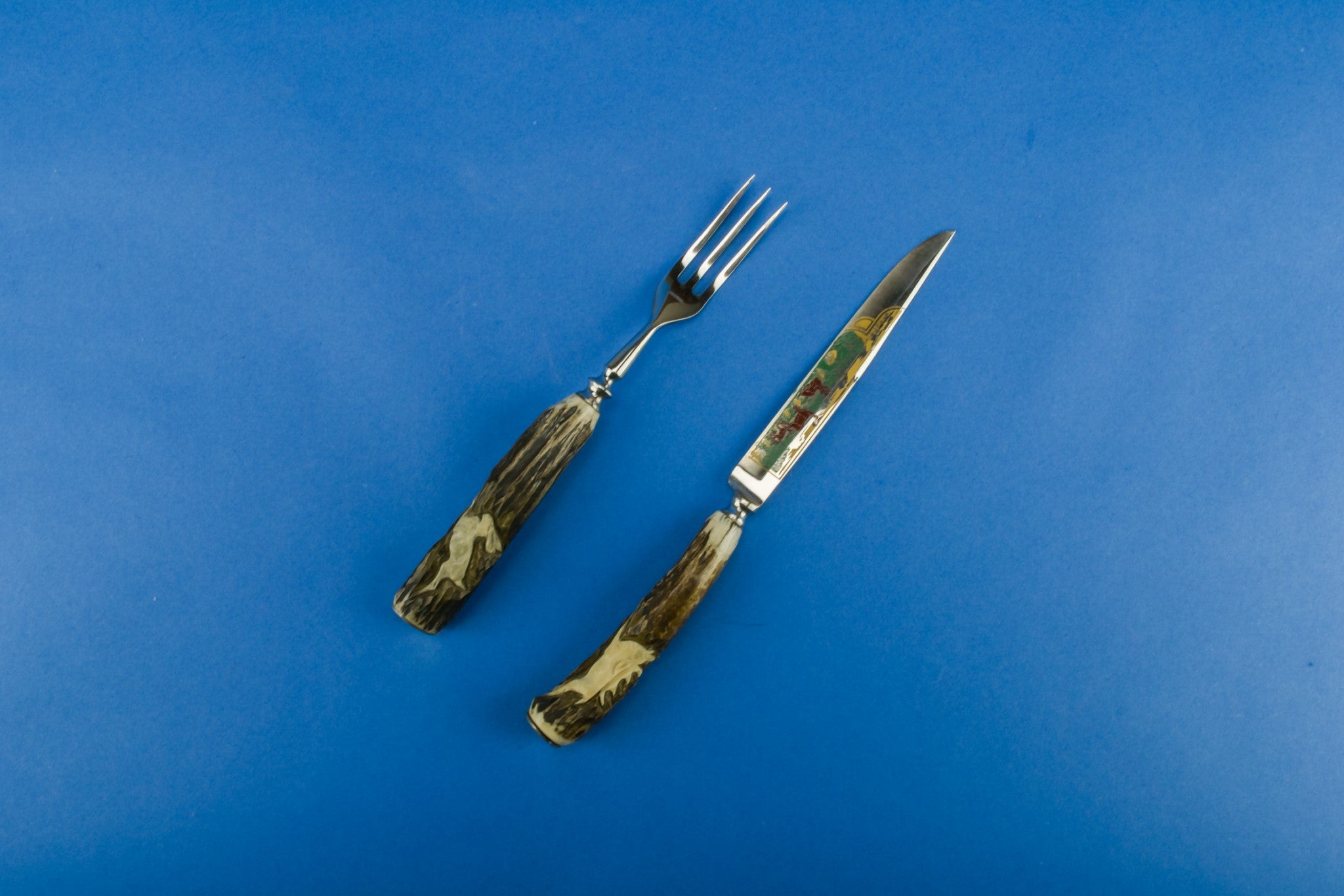 Antler knife and fork