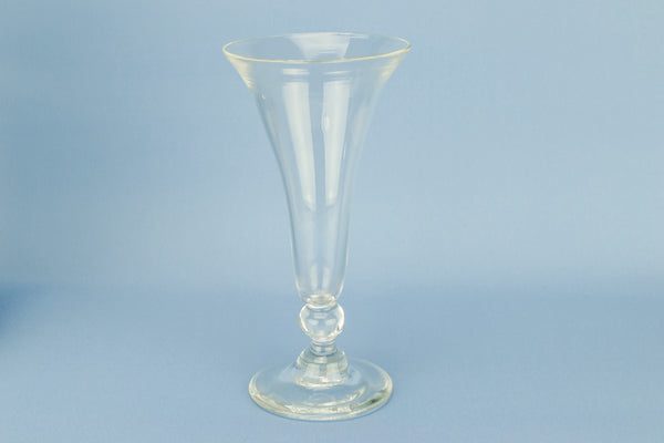 Blown glass Champagne flute