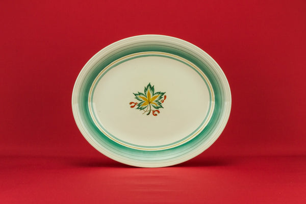 Medium green serving platter