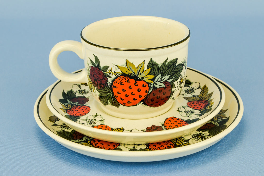 Strawberry tea set for 6