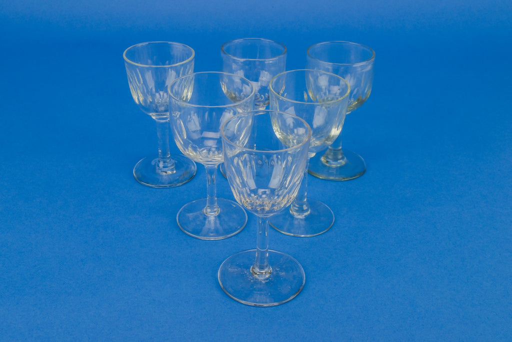 6 port wine glasses