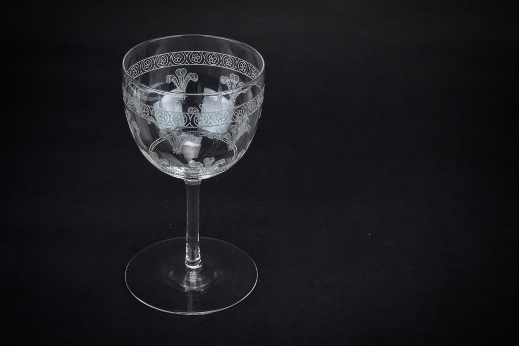 Prince of Wales wine glass