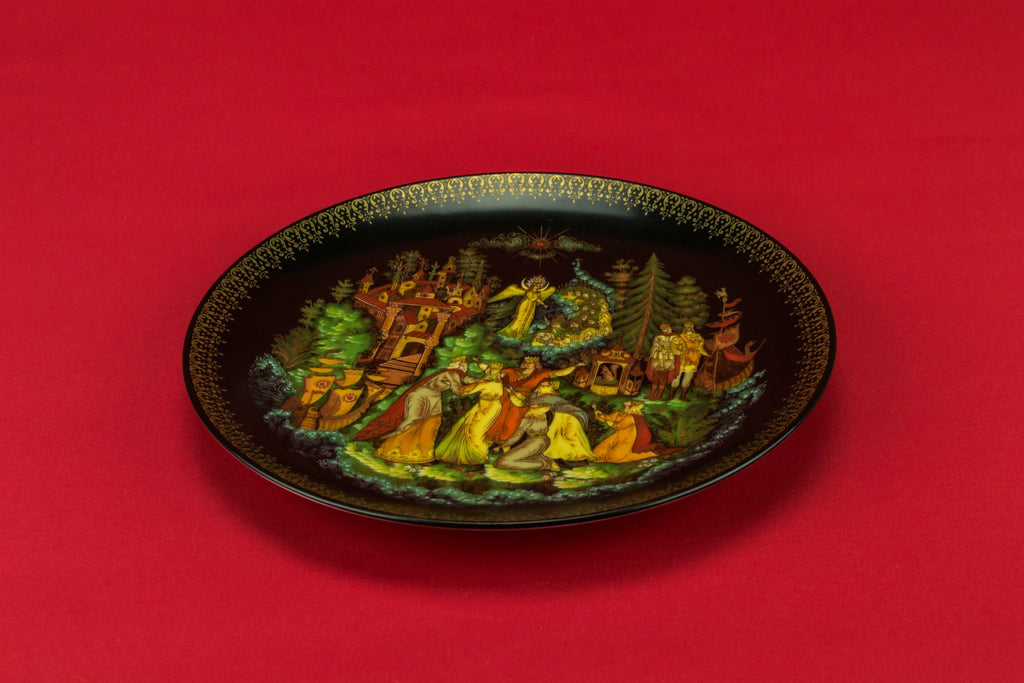 Decorative fairy tale plate