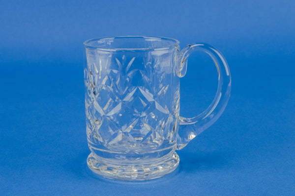 1/2 pint glass beer tankard