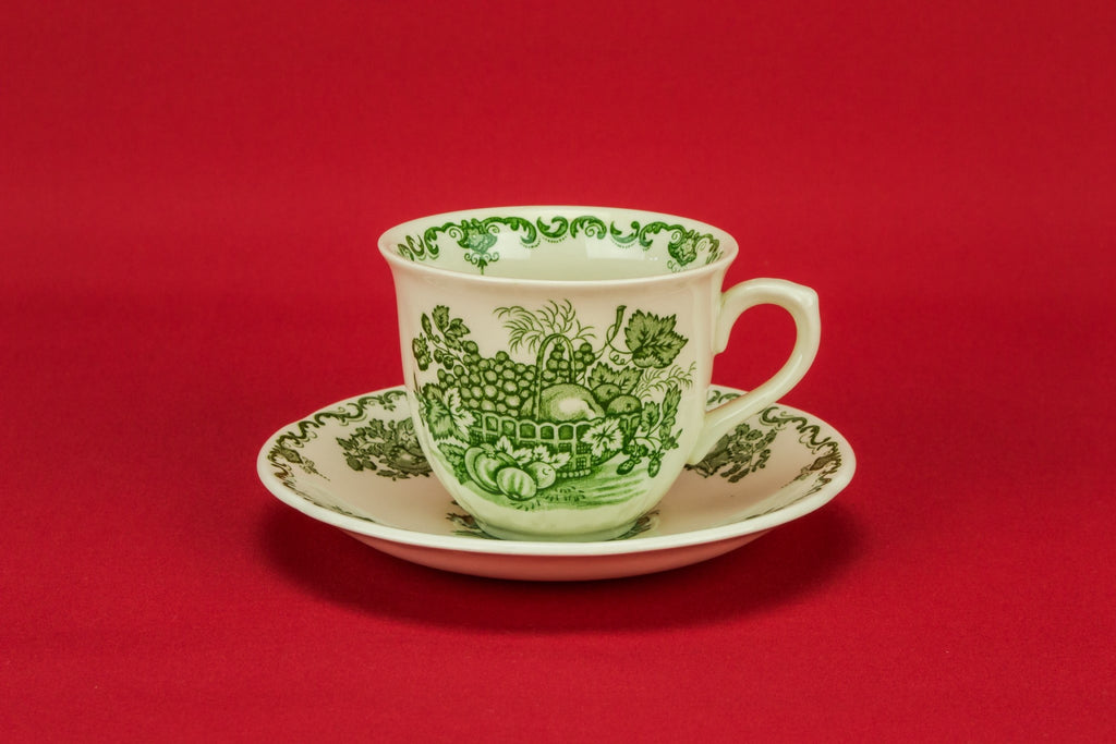 Green tea set for 4