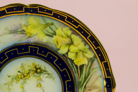 Limoges cake plate