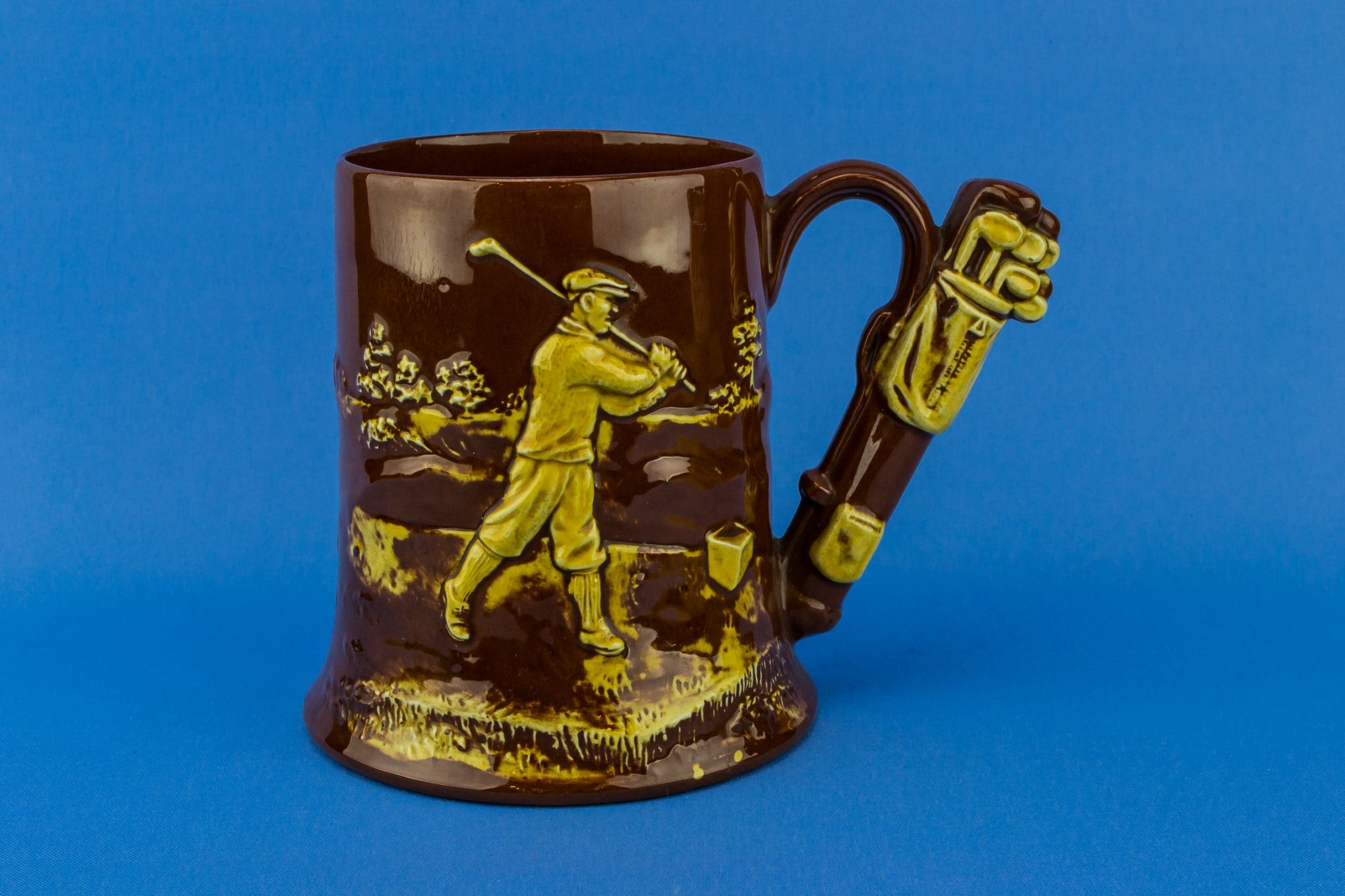 Golf beer tankard
