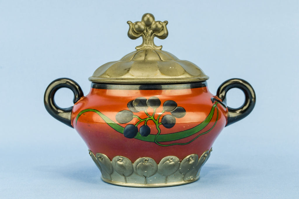 Art Nouveau sugar bowl