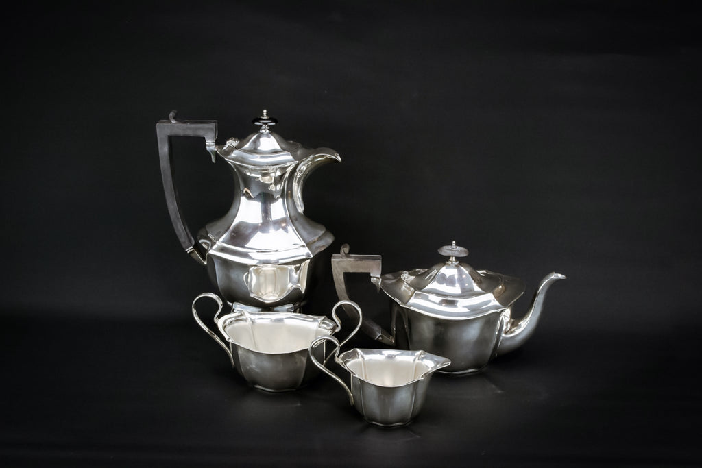 Silver tea and coffee set