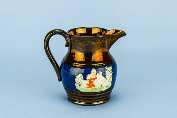 Small lustre milk jug