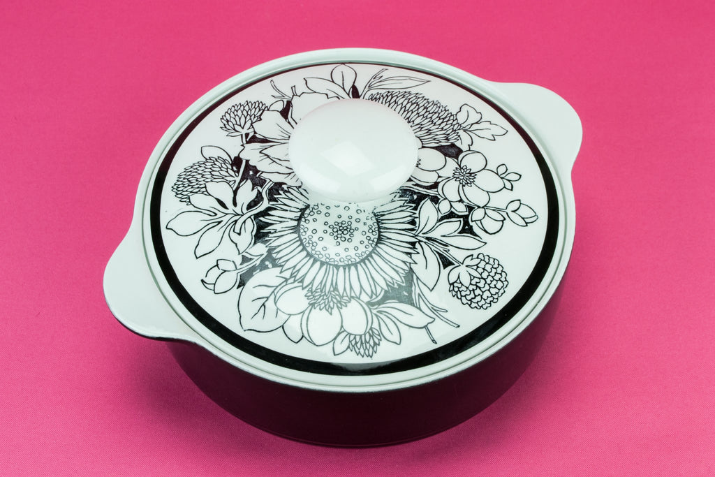 Black & white tureen