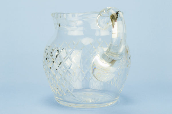 Classical glass water jug