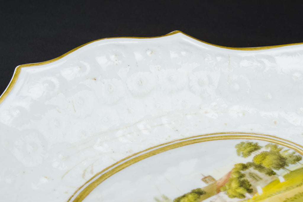 Regency serving bowl