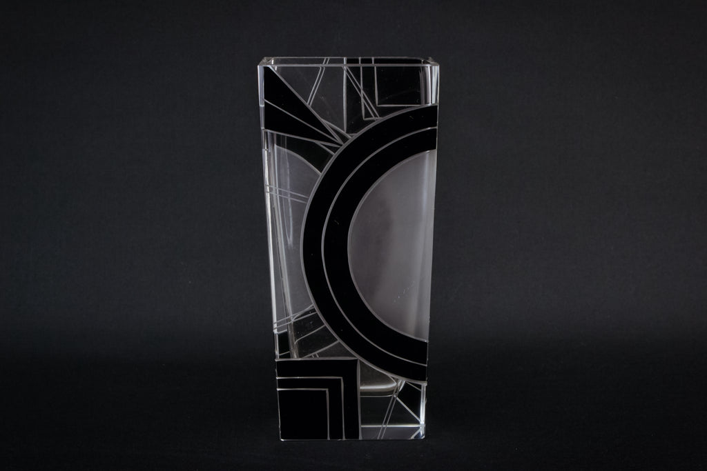 Karl Palda glass vase