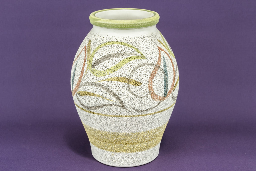 Stylised floral vase