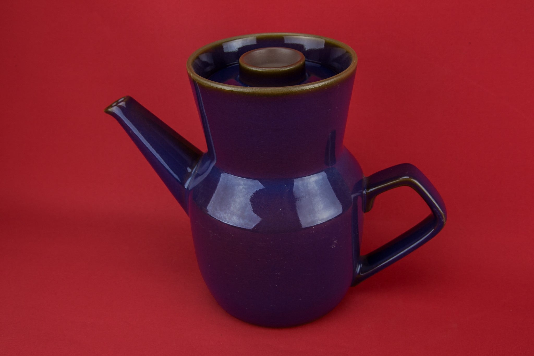 Dark purple coffee pot