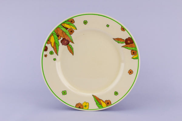 6 Art Deco medium plates