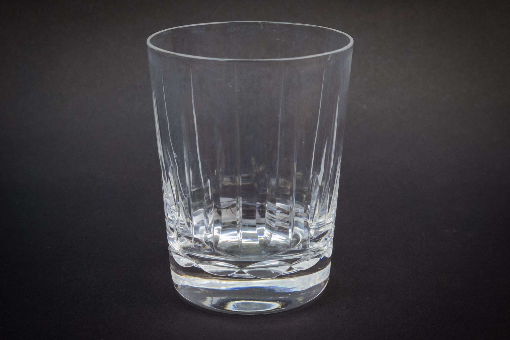 3 cut whisky tumblers