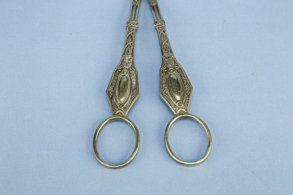 Silver plated grape shears