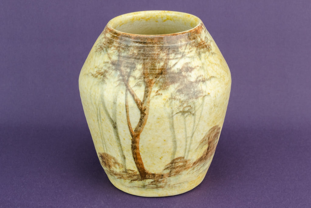 Art Deco ceramic vase