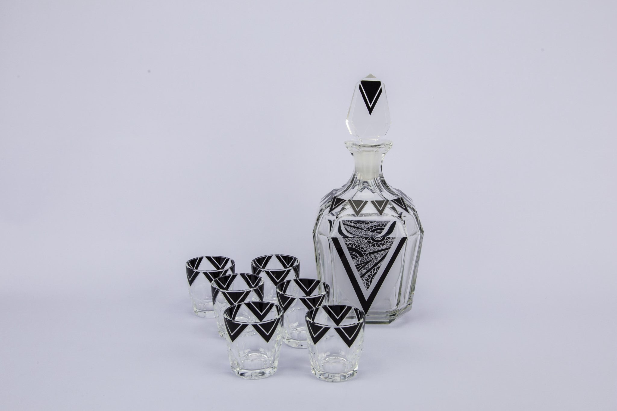 Art Deco decanter set