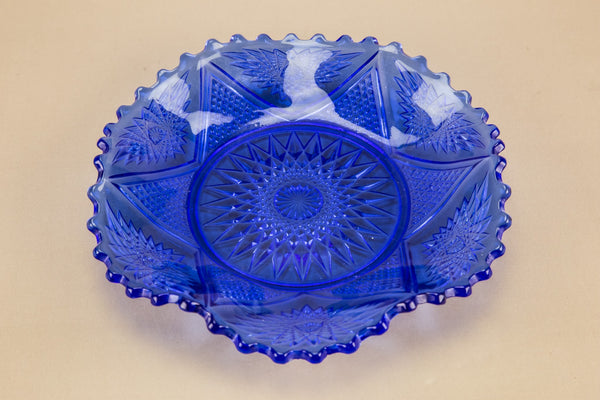 Art Deco glass plate