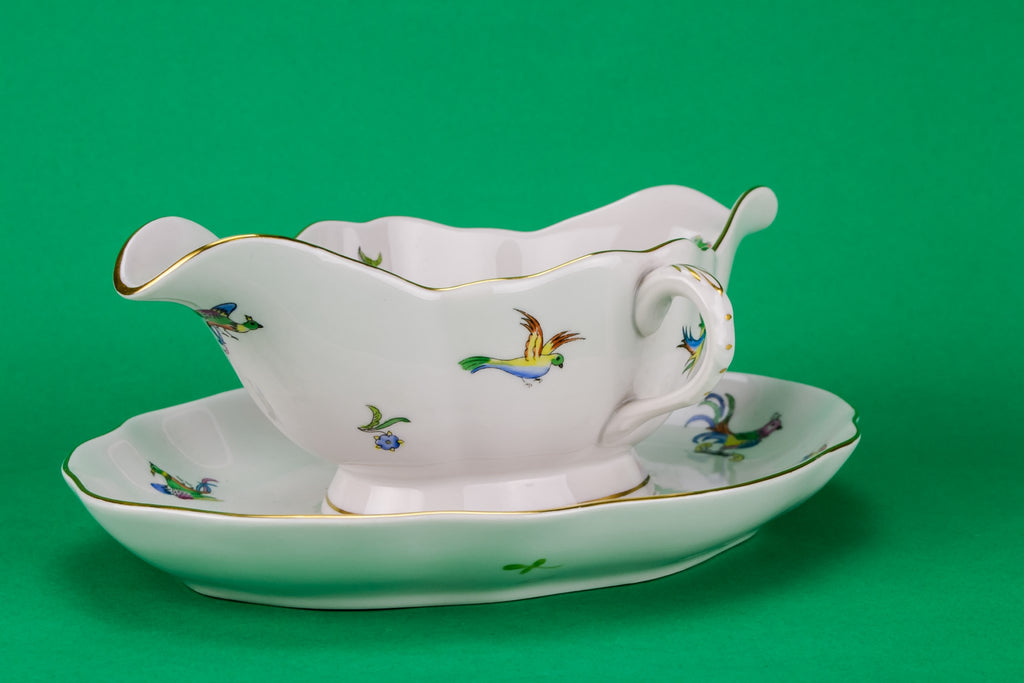 Herend large gravy boat