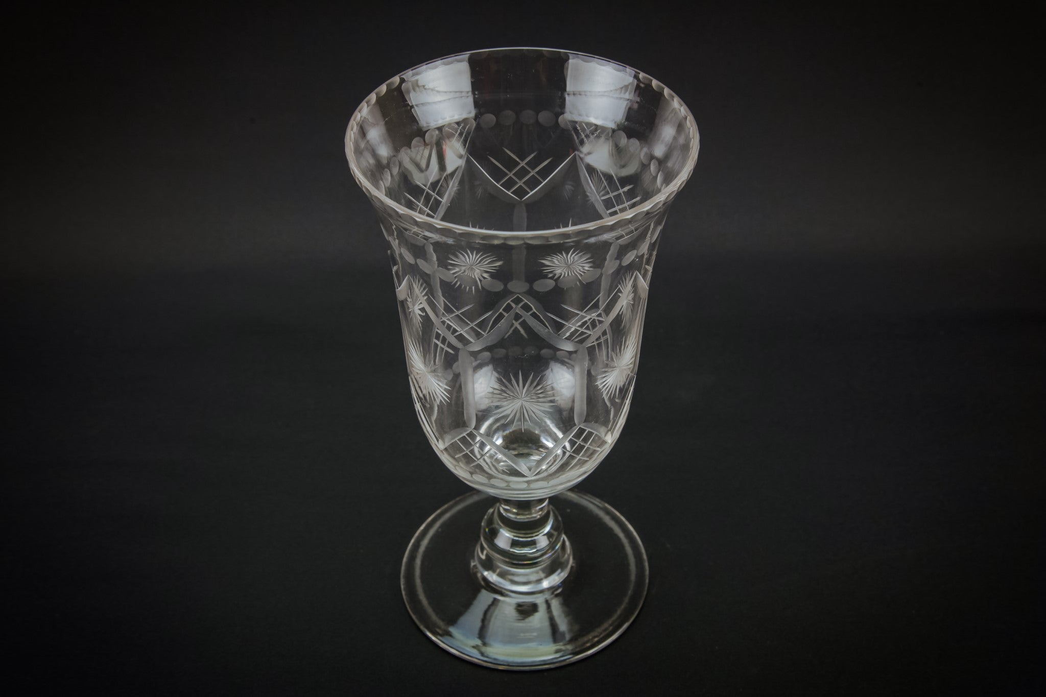 Glass Neo-Classical vase