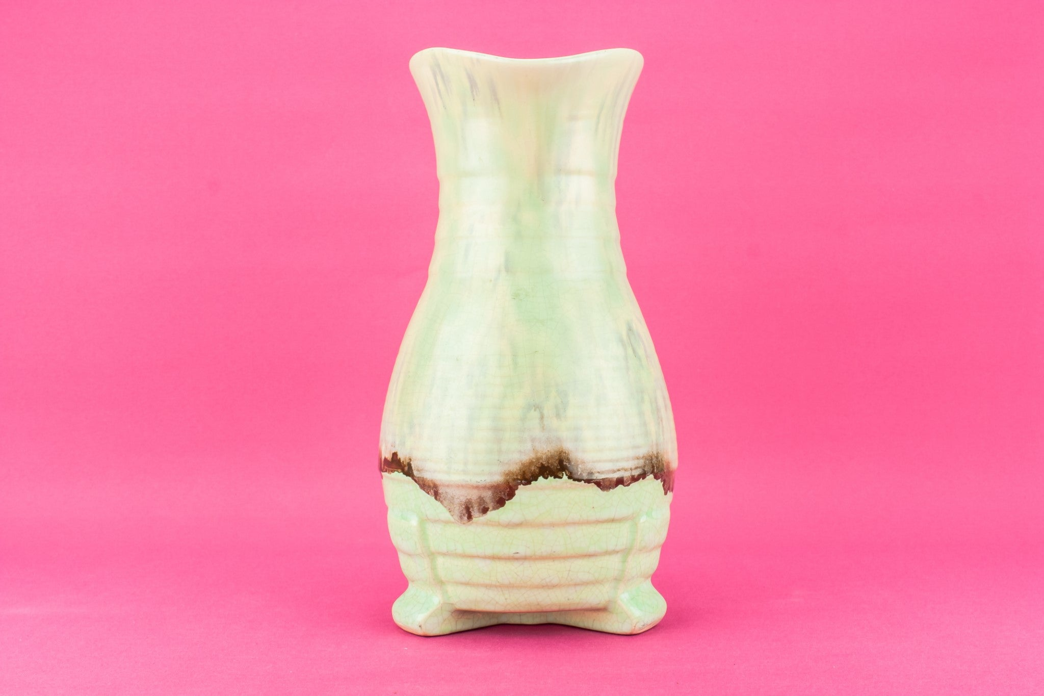 Art Deco pottery jug