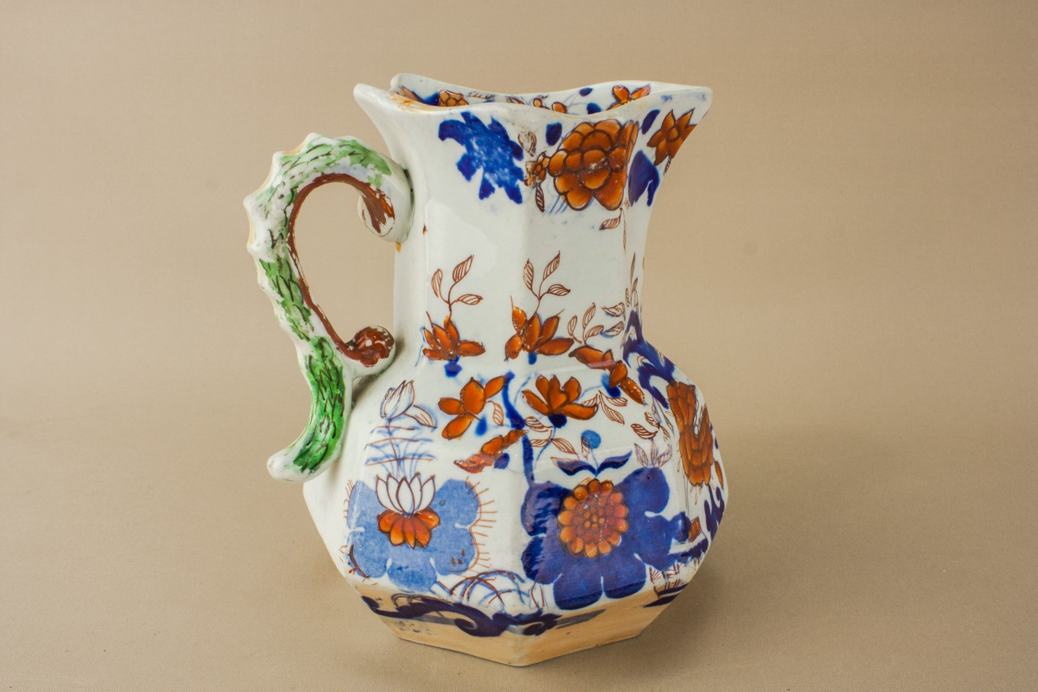 Ironstone water jug