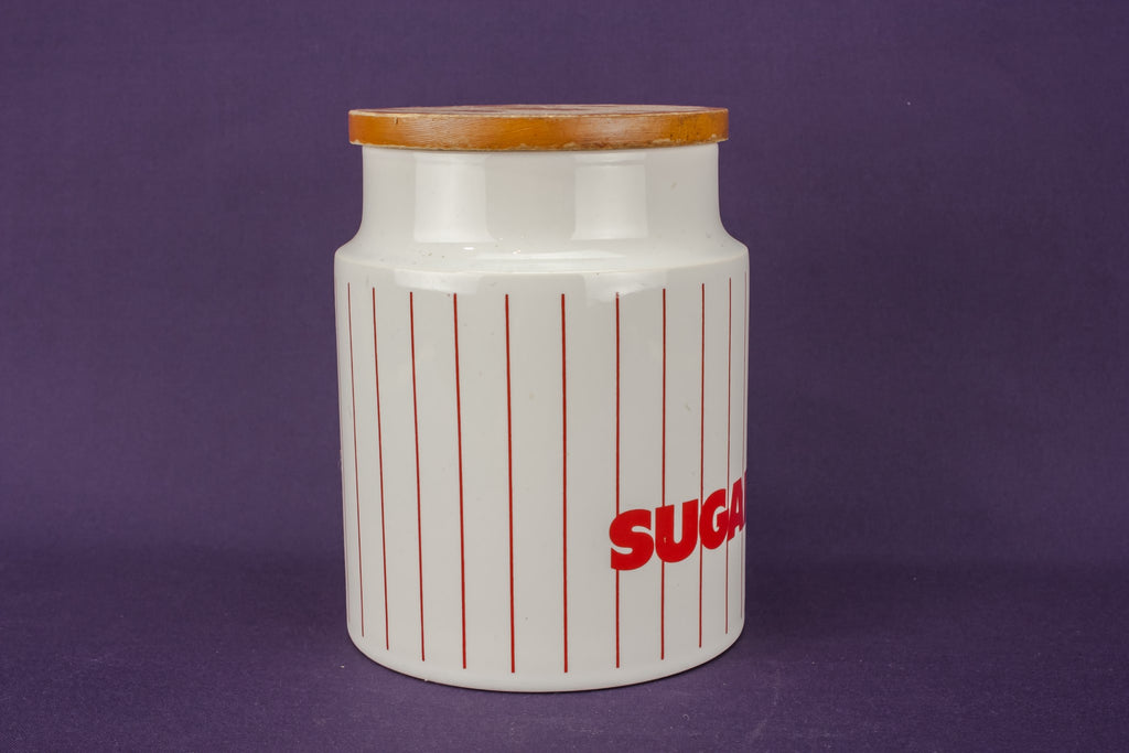 Hornsea sugar jar