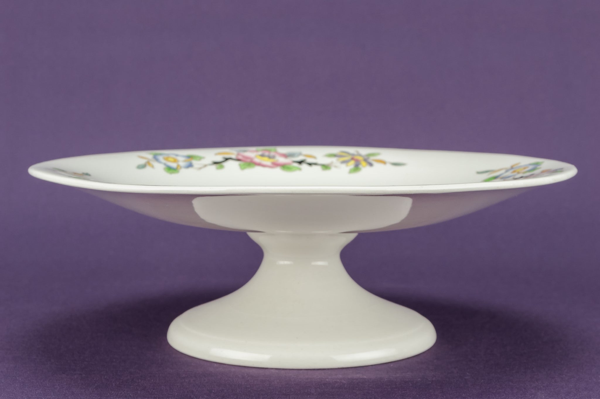 Art Deco pottery cake stand