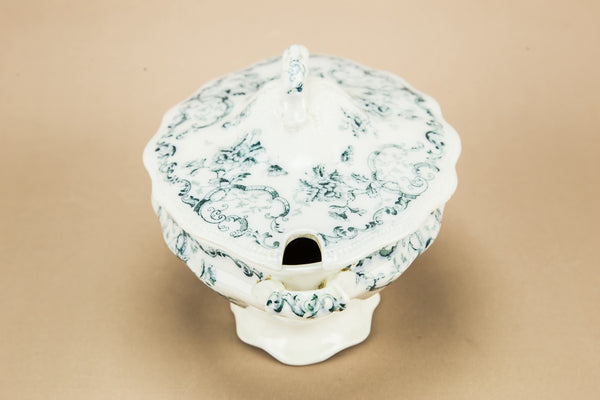Small green tureen