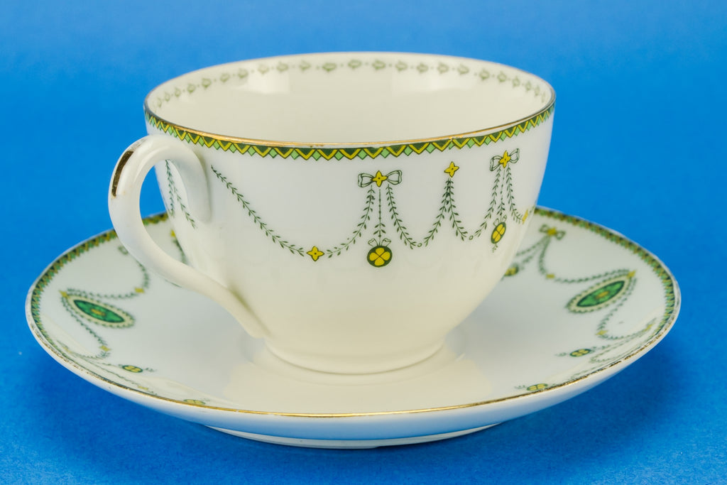 Porcelain tea set for six