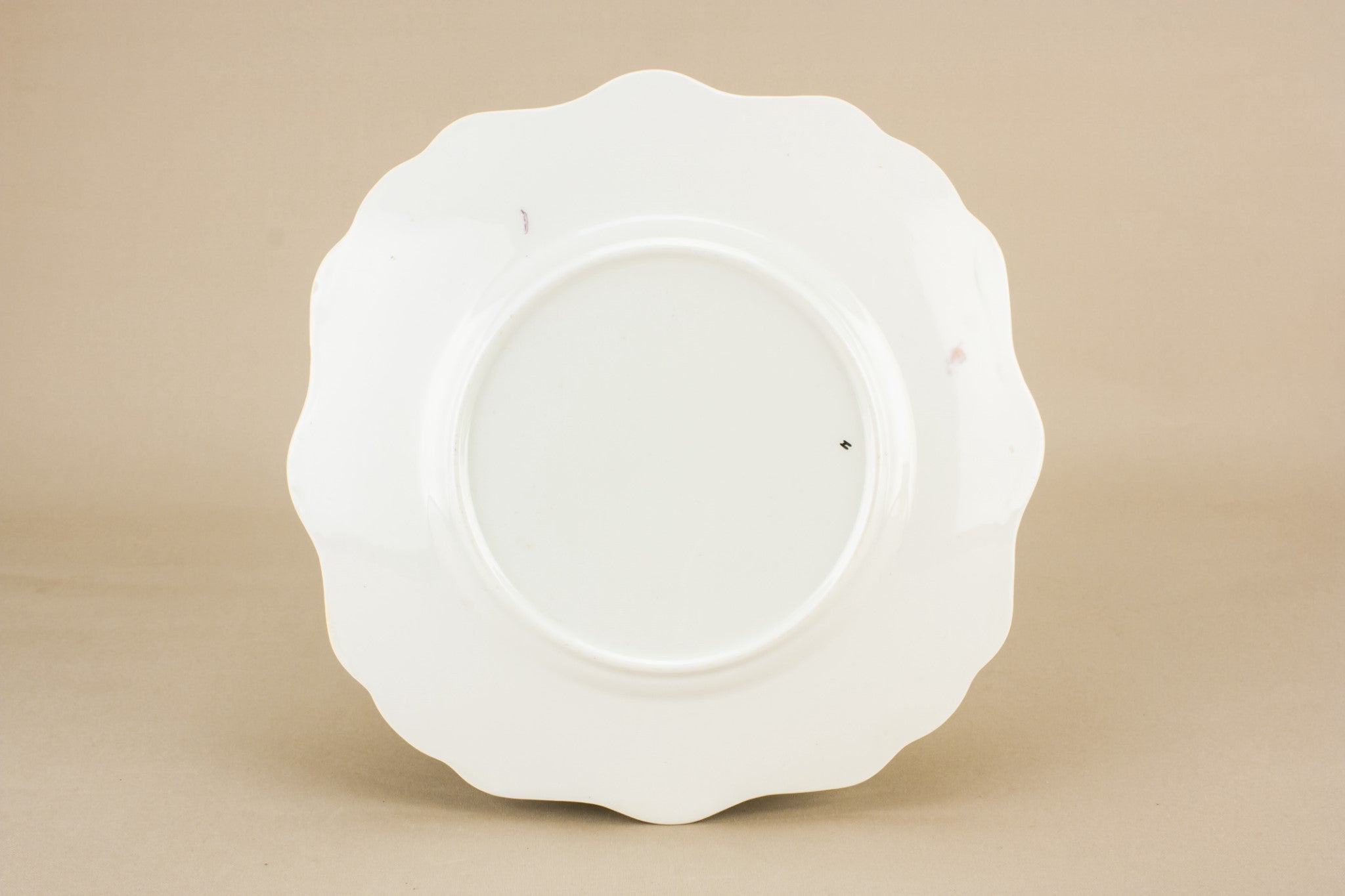 Art Deco bone china cake plate
