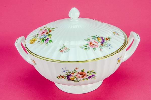 Large bone china tureen