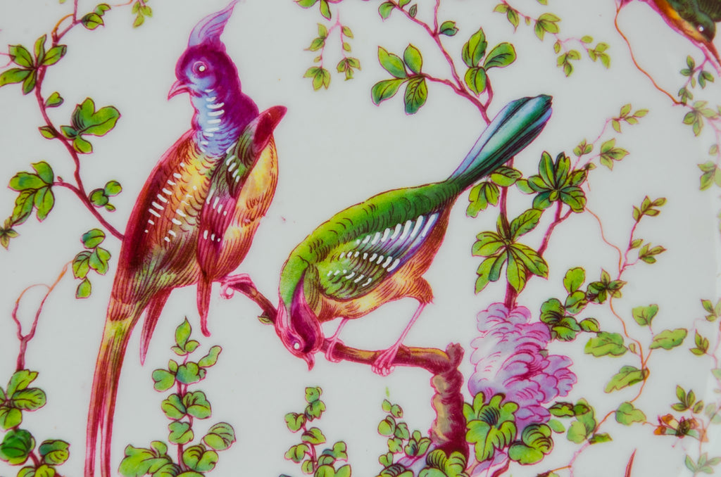 Decorative plate with birds