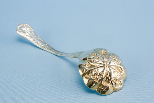 Small dessert serving spoon