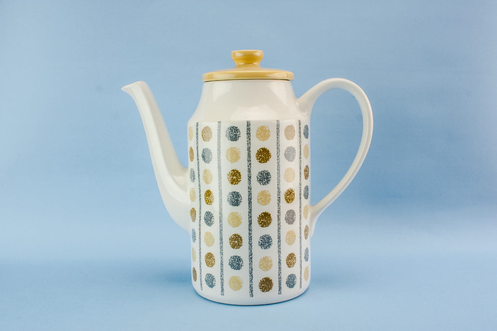 Large pottery coffee pot