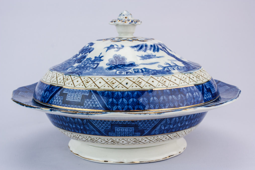Booths pottery tureen