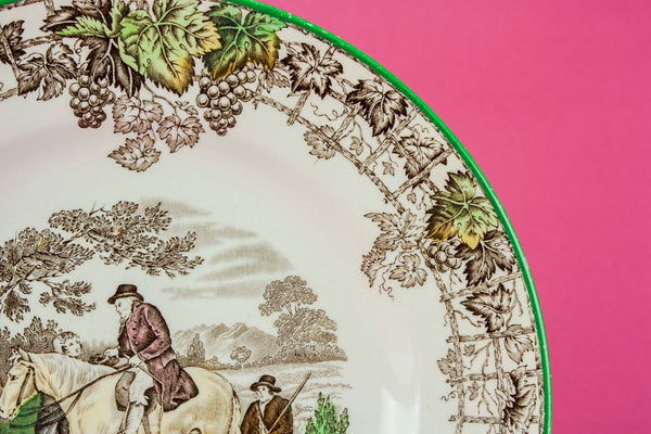 2 Neo-Classical serving dishes